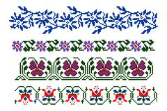 Temas tradicionais romenos Fotografia de Stock Royalty Free