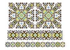 Temas tradicionais ucranianos Fotografia de Stock Royalty Free