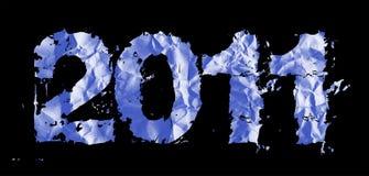 tematów 2011 nowych rok Obrazy Royalty Free