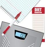 Temat dieta Fotografia Stock