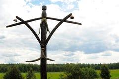 Temat szamanu kult Zdjęcie Stock