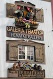 Tematowa galeria Zdjęcie Stock