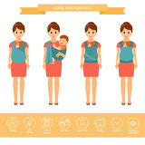 Temblak infographic ilustracji