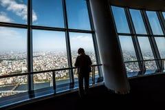 Tembo Deck Tokyo Skytree Stock Image