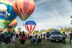 Temecula Hot Air Balloon Festival Royalty Free Stock Photography