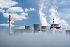 Temelin nuclear power plant Royalty Free Stock Photo