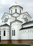 Temerin, Servië, Orthodoxe kerk stock afbeelding