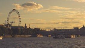 Temi ed occhio di Londra, Fotografia Stock