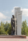 Temirtau, Kazakhstan - August 13, 2016: Monument to the Unknown. Soldier royalty free stock images