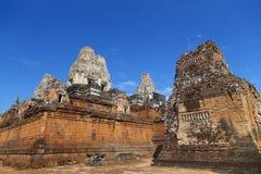 Temle antiguo en Camboya Imágenes de archivo libres de regalías