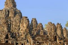 Temle de Bayon en Camboya Fotos de archivo
