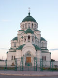 Temle del santo Vladimir Fotos de archivo