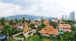 Temle i Malaysia Royaltyfri Fotografi