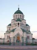 Temle van de heilige Vladimir Stock Foto's
