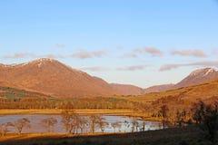 Temor del lago, Escocia fotos de archivo
