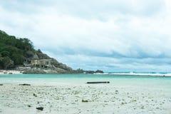 Tempête à l'île de Nangyuan Photo stock