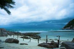 Tempête à l'île de Nangyuan Image stock