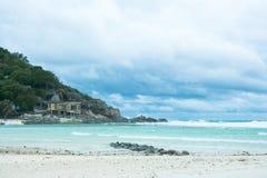 Tempête à l'île de Nangyuan Images stock