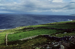 Tempête atlantique Irlande Photographie stock