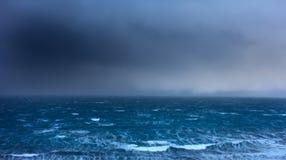 Tempête d'océan Image stock