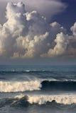 tempête d'océan Photographie stock