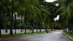 Tempête dans Key West Photo libre de droits