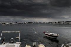 Tempête dans la région de Marmara - Turquie Photos stock