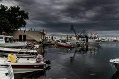 Tempête dans la région de Marmara - Turquie Image libre de droits