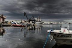 Tempête dans la région de Marmara - Turquie Images stock