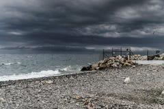 Tempête dans la région de Marmara - Turquie Photographie stock