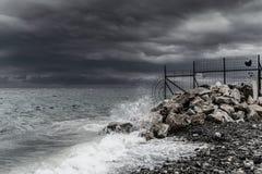 Tempête dans la région de Marmara - Turquie Photo libre de droits
