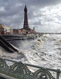 Tempête de Blackpool Images stock