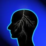 Tempête de cerveau Photo libre de droits
