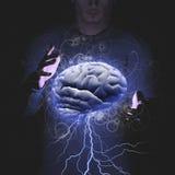 Tempête de cerveau Image libre de droits