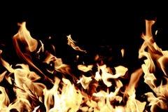 Tempête de feu Photos stock