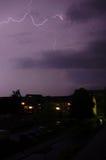 tempête de foudre Image libre de droits