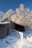 tempête de glace Image stock