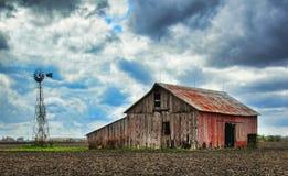 Tempête de grange photo libre de droits
