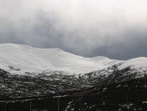 Tempête de l'hiver Image libre de droits
