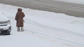 Tempête de l'hiver clips vidéos