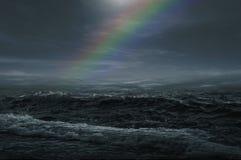 Tempête de mer Photo libre de droits