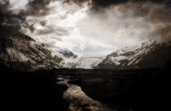 Tempête de montagne Photo libre de droits