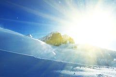 Tempête de neige photographie stock libre de droits