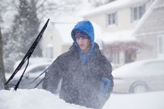 Tempête de neige Images stock
