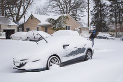 Tempête de neige Images libres de droits