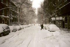 Tempête de neige Image stock