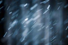 Tempête de neige abstraite de neige de fond d'hiver Photo libre de droits