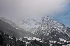 Tempête de neige entrante Photo libre de droits