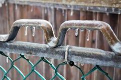 Tempête de pluie verglaçante Photos stock