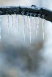 Tempête de pluie verglaçante image stock